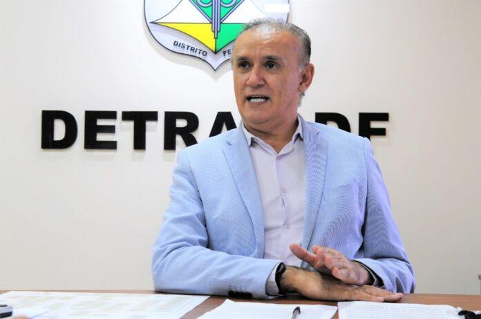 Diretor Detran DF Zélio Maia